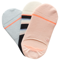 Stance 3 Pack Super Invisible 2.0 Socks - Women's - Multicolor