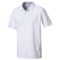 PUMA Pounce Aston Golf Polo - Men's - All White / White