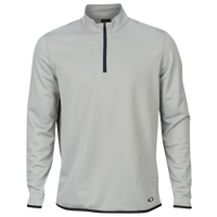 Oakley Range Golf 1/4 Zip Pullover - Men's - Grey