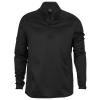 Oakley Range Golf 1/4 Zip Pullover - Men's - All Black / Black