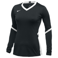 Nike Team Hyperace Long Sleeve Game Jersey - Women's - Black / White
