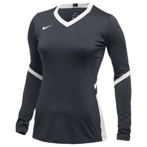 Nike Team Hyperace Long Sleeve Game Jersey - Women's - Anthracite/White