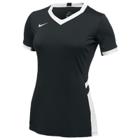 Nike Team Hyperace Short Sleeve Game Jersey - Women's - Black / White