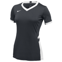 Nike Team Hyperace Short Sleeve Game Jersey - Women's - Grey / White