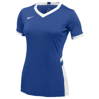 Nike Team Hyperace Short Sleeve Game Jersey - Women's - Blue / White