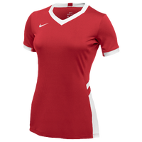 Nike Team Hyperace Short Sleeve Game Jersey - Women's - Red / White