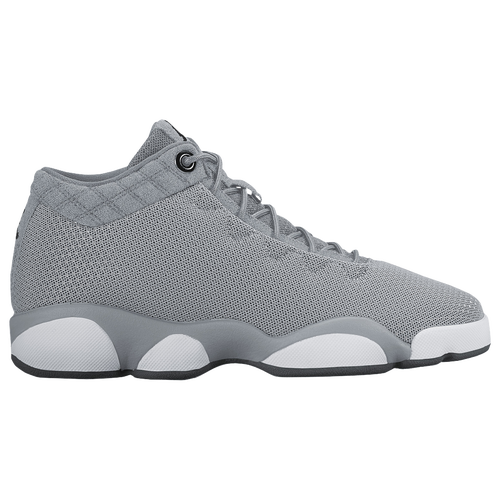 jordan horizon low girls grade school grey white