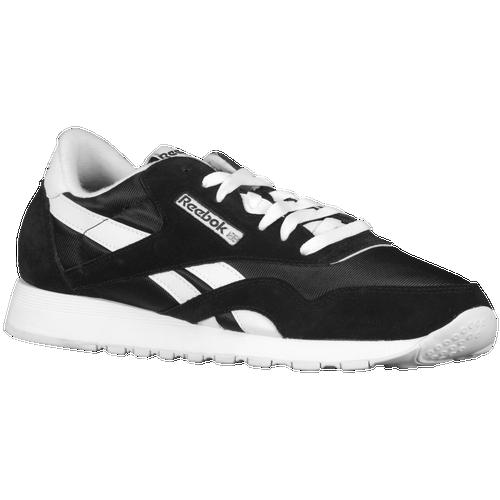 2f75e70120e Reebok Classic Nylon - Men s - Casual - Shoes - Black White