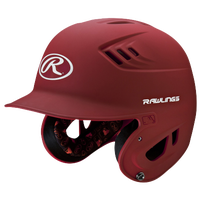 Rawlings Coolflo R16 Junior Batting Helmet - Men's - Red / White