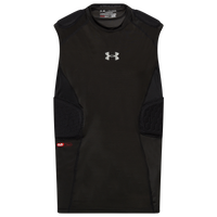 Under Armour Gameday Armour 5-Pad Top - Boys' Grade School - Black