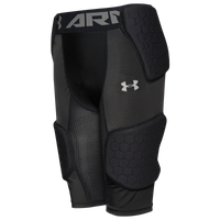 Under Armour Gameday Armour 5-Pad Girdle - Boys' Grade School - Black
