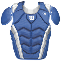 Wilson Pro Stock Chest Protector - Adult - Blue / White