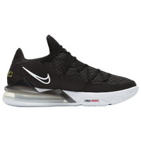Nike LeBron 17 Low - Boys' Grade School -  Lebron James - Black