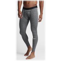 Nike Pro Cool Compression Tights - Men's Training - Black/Dark Grey/White