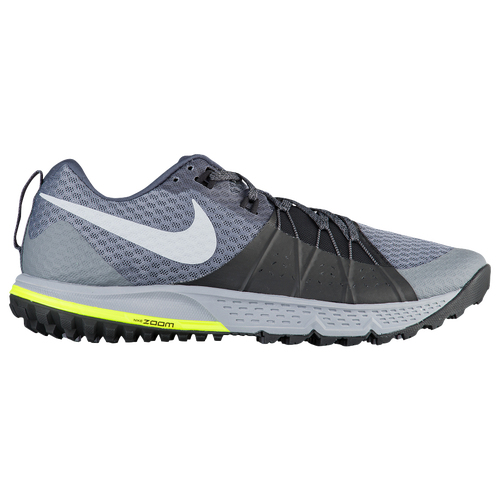 Nike Zoom Wildhorse 4 - Men's - Running - Shoes - Dark Grey/Wolf  Grey/Black/Stealth