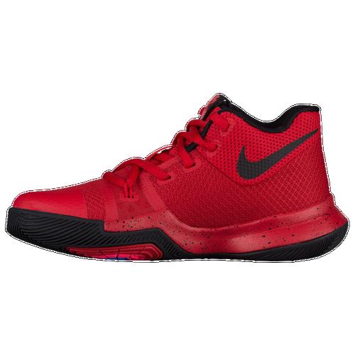 Nike Kyrie 3 - Boys' Preschool - Basketball - Shoes - Irving, Kyrie - University  Red/Black/Team Red