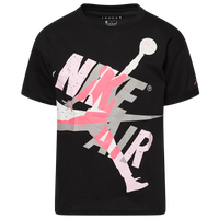 Jordan Jumpman Classics Oversize T-Shirt - Girls' Grade School - Black