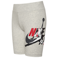 Jordan Jumpman Classics Shorts - Girls' Grade School - Grey