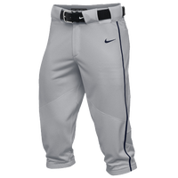 Nike Team Vapor Pro Piped High Pants - Men's - Grey / Navy