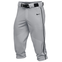 Nike Team Vapor Pro Piped High Pants - Men's - Grey / Black