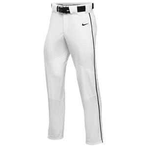Nike Team Vapor Pro Pant Piped - Men's - White/Black/Black