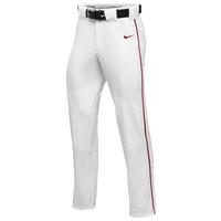 Nike Team Vapor Pro Pant Piped - Boys' Grade School - White / Red