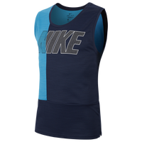 Nike Superset GFX Training Tank - Men's - Light Blue