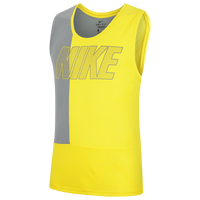 Nike Superset GFX Training Tank - Men's - Yellow
