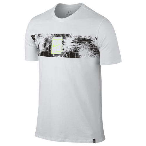 Nike CT T-Shirt 2 - Men's Casual - White/Ghost Green 47454100
