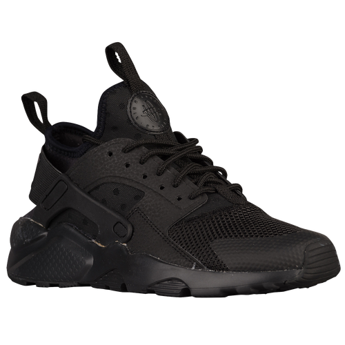 Nike Huarache Run Ultra - Boys' Grade School - All Black / Black
