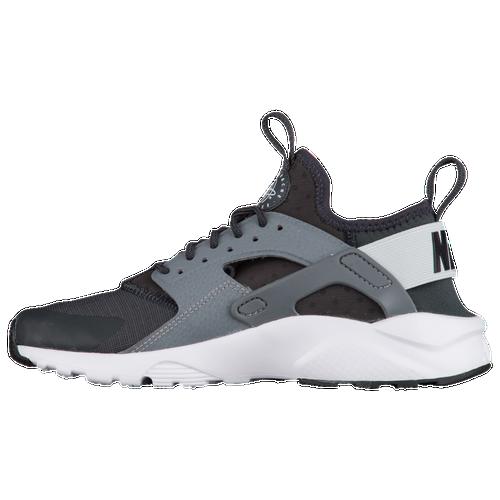 75766deba16d Nike Huarache Run Ultra - Boys  Grade School - Nike - Casual -  Anthracite Pure Platinum Cool Grey White
