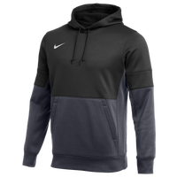 Nike Team Authentic Therma Hoodie - Men's - Black / Grey