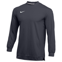 Nike Team Dry Classic Mesh L/S Top - Men's - Grey