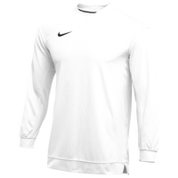 Nike Team Dry Classic Mesh L/S Top - Men's - White