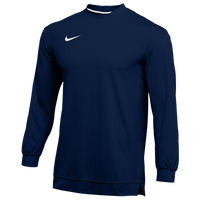 Nike Team Dry Classic Mesh L/S Top - Men's - Navy