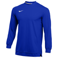 Nike Team Dry Classic Mesh L/S Top - Men's - Blue