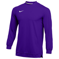 Nike Team Dry Classic Mesh L/S Top - Men's - Purple