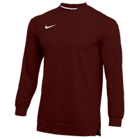 Nike Team Dry Classic Mesh L/S Top - Men's - Maroon