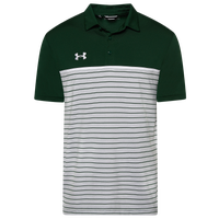 Under Armour Team Team Stripe Mix-Up Polo - Men's - Green