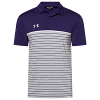 Under Armour Team Team Stripe Mix-Up Polo - Men's - Purple