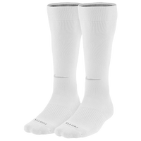 Nike 2 Pack Baseball Socks - Men's - All White / White