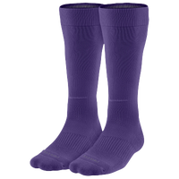 Nike 2 Pack Baseball Socks - Men's - Purple / Purple