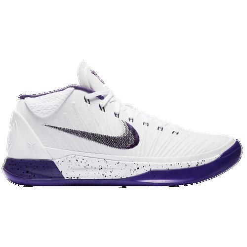 Nike Kobe A.D. - Men\u0027s - Kobe Bryant - White / Purple