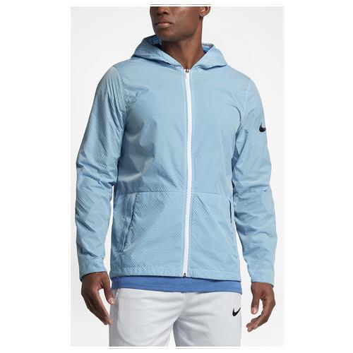 c3e444319142 Nike Hyper Elite All Day Jacket - Men s - Basketball - Clothing - Vivid  Sky White Black
