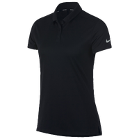 Nike Dri-Fit Victory Golf Polo - Women's - All Black / Black