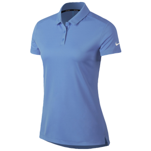 Nike Dri-Fit Victory Golf Polo - Women's - University Blue/White