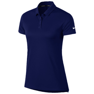 Nike Dri-Fit Victory Golf Polo - Women's - College Navy/White