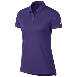Nike Dri-Fit Victory Golf Polo - Women's - Court Purple/White