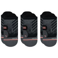 Stance 3 Pack Run Tab Socks - Women's - Black