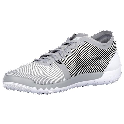 Nike Free Trainer 3.0 V4 - Men's - Training - Shoes - Wolf Grey/White/Black